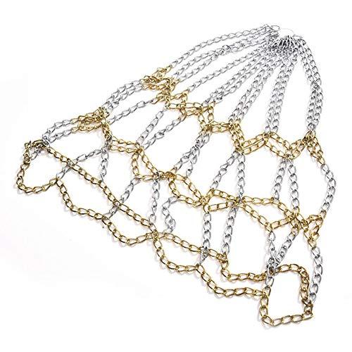 ZSooner Basketball Net Galvanized Steel Chain Net for Outdoor Or Indoor Basketball Hoop Sports Goods