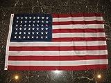 3X5 Embroidered Sewn Historic Usa 48 Stars Old Glory Nylon Flag 3'X5'