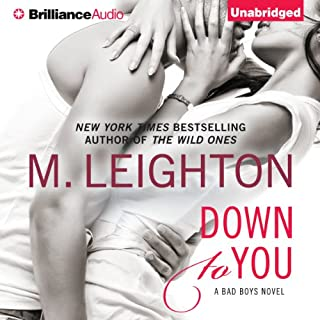 Down to You audiobook cover art
