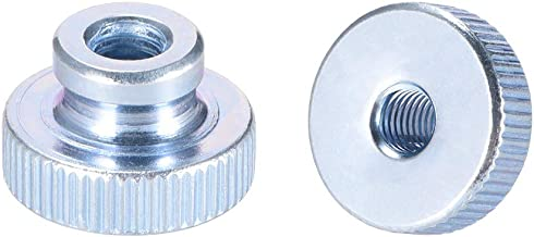 304 Stainless Steel for Server Shelf Cabinet uxcell 55 Pack M6 Cage Nut