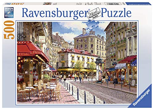 Ravensburger 14116 Quaint Shops Puzzle 500pc,Adult Puzzles