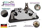 CatMountain - 2 in 1 - Katzenspielzeug und Kratzmatte in einem - Kratzteppich, Kratzmatte für Katzen, Katzenteppich, Kratzbrett, Kratzbaum, Kratzmöbel
