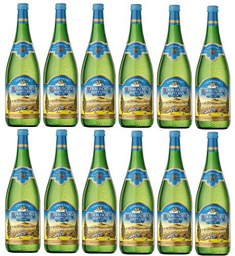 12 Flaschen Himmlisches Tröpfchen weiß a 1 L 9,5% vol. Tafelwein Weißwein