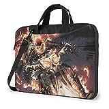 Funda para portátil Ghost Rider Tablet maletín Ultraportable Lona protectora para MacBook Pro/MacBook Air/Notebook Computer