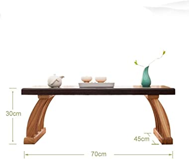 Selected Furniture/Bedroom Solid Wood Table Living Room Solid Wood Table Balcony Small Coffee Table Japanese Tea Table Solid
