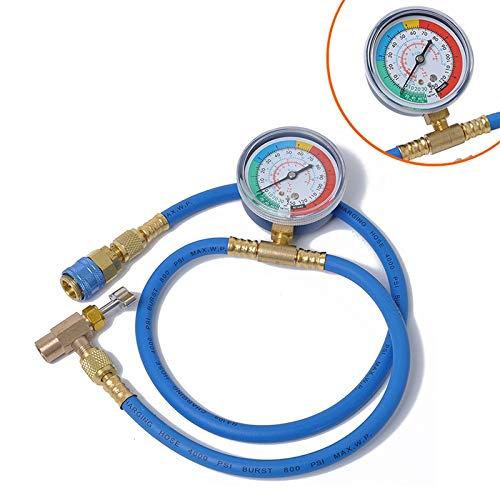Turbolader Manometer Klimaanlage Fluoride Tabelle Schnee Manometer Kälteeinzeltisch Klimaanlage, for Autos