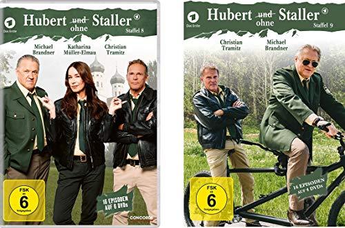 Hubert ohne Staller - Staffel 8 + 9 im Set - Deutsche Originalware [10 DVDs]