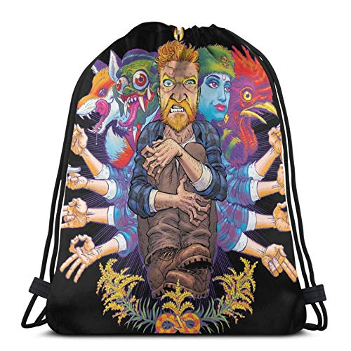 ANGSHI6 Drawstring Bags Ty-Ler Chil-Ders Bolsas de Cuerdas Mochila Deportiva clásica Unisex Bolsa de Viaje Bolsa de Almacenamiento