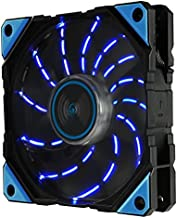 Enermax D.F.VEGAS 120mm Dust Free Rotation Technology Blue LED High Performance with PWM speed control Case Fan Single Pac...