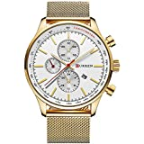 CURREN Watches Mens Luxury Sta...