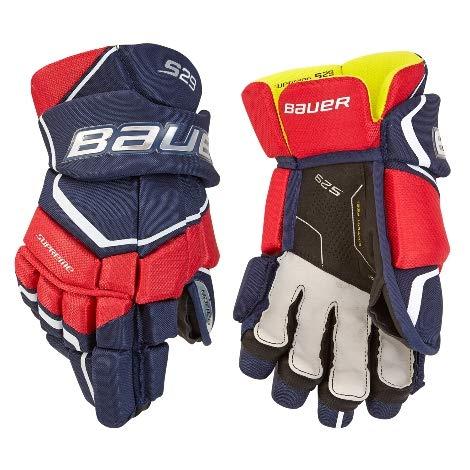 Bauer Handschuhe Supreme S29 Senior Größe 15 Zoll, Farbe schwarz/Weiss