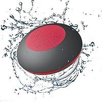 Con l' altoparlante Bluetooth doccia., fai una doccia sotto una cascata di musica cantando le tue hit preferite Compatibile con iPhone, iPad, Smartphone Android, Tablets, Windows phone, trasmettitori Bluetooth. IPX4 Impermeabile - l'acqua IPX4 resist...