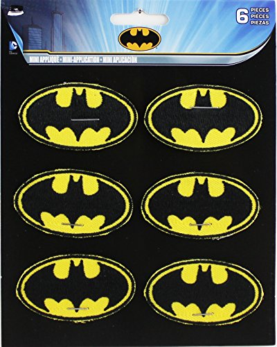 Application DC Comics Batman 6 Logo Patch Set