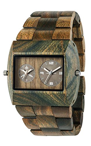 WeWood Jupiter RS Wood Watch (Army)
