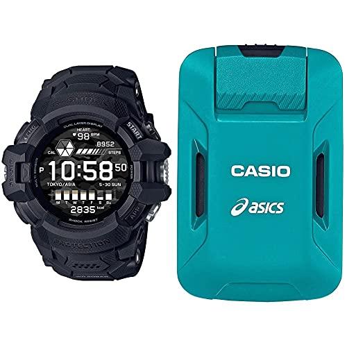 [カシオ] 腕時計 ジーショック G-SQUAD PRO GSW-H1000-1AJR (ランニングフォーム解析デバイス モーションセンサーセット)