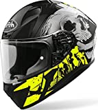 CASCO AIROH VALOR AKUNA YELLOW GLOSS M
