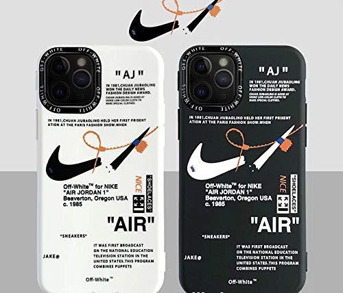 AJ Off White iPhone case (iPhone 11, Black)