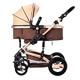 Infant Baby Stroller for Newborn and Toddler - Hanmate Convertible...