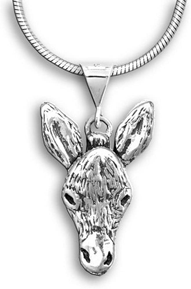 The Magic Zoo Sterling Factory outlet Silver 5% OFF Donkey Pendant