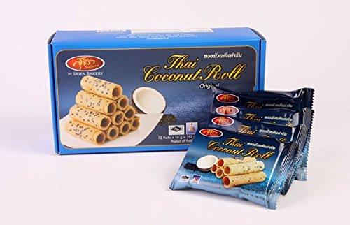 Thai Crispy Roll Coconut 192g (6.76oz) (Original Flavour)