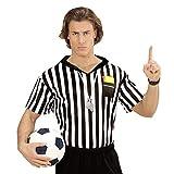 Widmann 07413 Erwachsenen Kostüm Schiedsrichter, Herren, Mehrfarbig, M/L