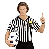 WIDMANN Disfraz de árbitro para Adultos, Multicolor, Extra-Large (07414)