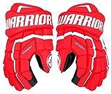 Warrior Covert QRL3 Handschuhe Senior, Größe:13 Zoll, Farbe:rot/Weiss