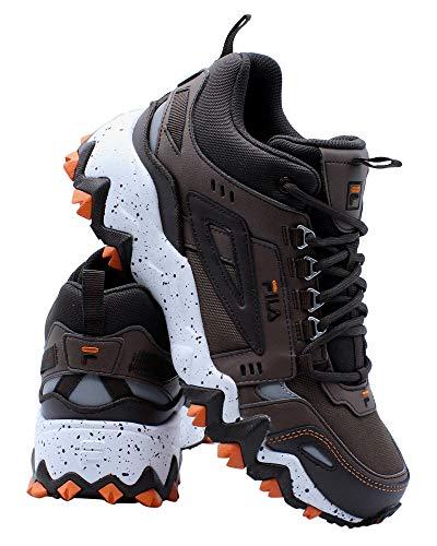 Fila Men's Oakmont Tr Mid Shoes Pcon/Espr/Vorn 7.5