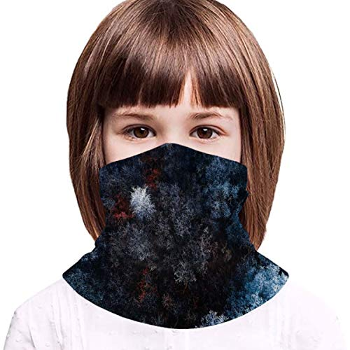 Frozen Forest Girls Face Mask Neck Gaiter Cooling Girls Face Scarf Mask Boy Girl Balaclava with Filters