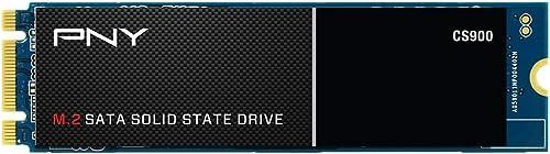 PNY CS900 M.2 SATA III SSD Interne 500Go, Vitesse de Lecture jusqu'à 550 Mo/s, Vitesse d'Ecriture jusqu'à 500 Mo/s