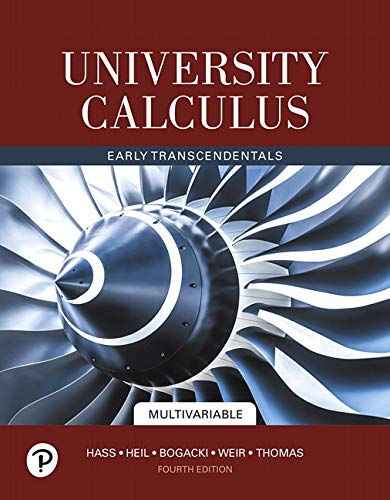 University Calculus, Multivariable plus MyLab Math with Pearson eText -- 24-Month Access Card Package (4th Edition)