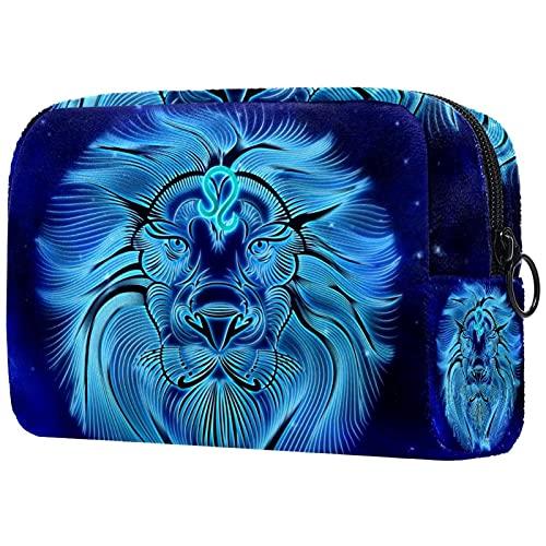 Neceser de viaje, bolsa de viaje impermeable, bolsa de aseo para mujeres y niñas, 18,5 x 7,5 x 13 cm