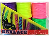 Pepperell Braiding Co. PEPRX6PK.2 Pepperell Rexlace 6 Pk Neon Colors 6 Pack