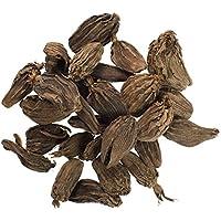 JustIngredients Essential Vainas de Cardamomo Negro - 100 gr