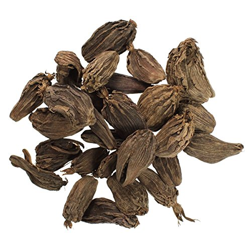 JustIngredients Essential Vainas de Cardamomo Negro - 100 gr