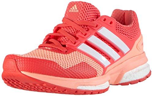 adidas Damen Response Boost 2 Laufschuhe, Pink (Sun Glow S16/Ftwr White/Shock Red S16), 36 2/3 EU