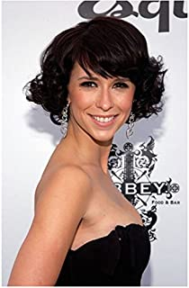 Jennifer Love Hewitt 8 x 10 Photo Ghost Whisperer Criminal Minds I Know What you Did Last Summer Black Strapless Dress Curly Short Hair Cute Smile kn