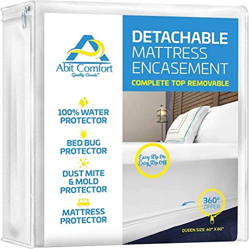 Abit Comfort mattress cover, deep size mattress encasement...