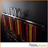 Judo | Porta-medallas de judo / Medallero de pared de judo