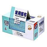 潔の夢 ダスター カウンタークロス ふきん 35x60cm 繰り返し使用可能 油汚れに強い 吸水 速乾 家庭用 業務用(ブルー, 60枚)