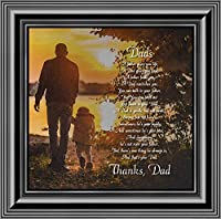 Elegantly Yours Dad, Meaningful Picture Frame Gifts for Dad, 10x10 8645B [並行輸入品]