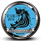 Balm Bossman Relaxing Beard Balm - Tame - Thicken - Protect your beard. Made in USA (Magic Scent)