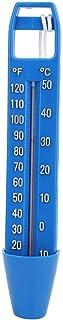 idalinya Termómetro De Piscina TermóMetros Primera Calidad Cordón Integrado Bolsillo Resistente A Roturas Ideal Todas Las Piscinas Aire Libre Interior Balnearios Jacuzzis