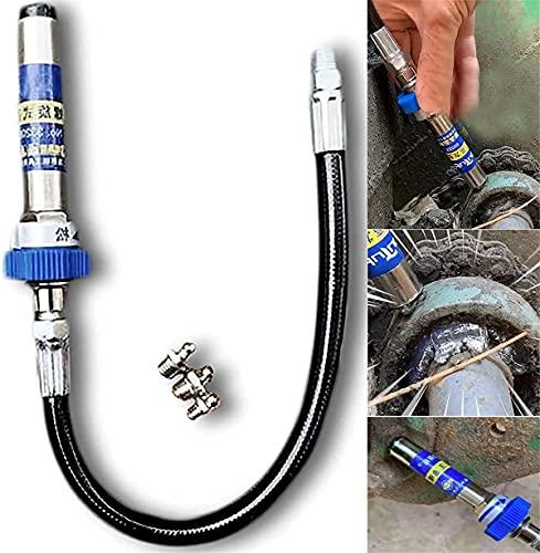 Acoplador de grasa de alta presión, adaptador de manguera de grasa de conexión rápida, boquilla de engrase tipo abrazadera de bloqueo, bloqueo y liberación rápidos para engrasadores empotrados