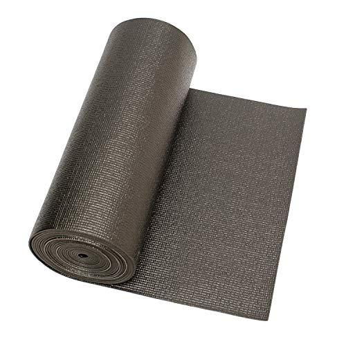 ABN Tool Drawer Liner Non Slip Tool Box Liner - Bulk Rubber Shelf Liner Roll Black Shelf Liner Non Adhesive, 18in x 24ft