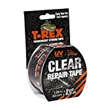 T Rex Ferociously Strong Clear Repair Tape, 48mm x 8.2m easy to tear by hand and it sticks to wet surfaces in...