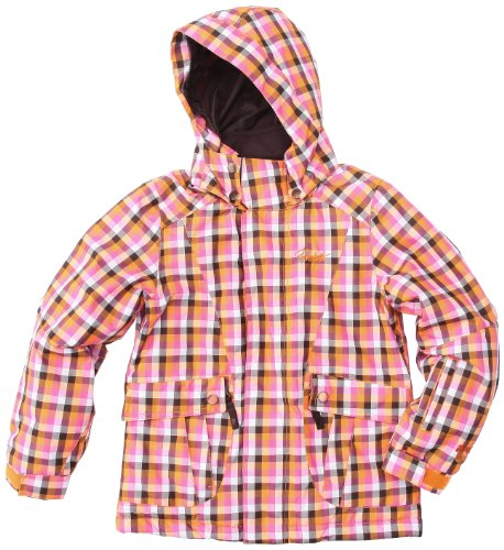 Protest Monroe Jr. Board technische Jacke für Mädchen 14 Jahre Orange - Orange Carrot