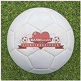 Balleristo Fußball als Geschenk Personalisieren [Lieblingskicker] - Fußball selbst gestalten und mit eigenem Text oder Namen Bedrucken Lassen