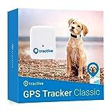 Tractive Traceur GPS chien - Collier GPS pour chien léger et étanche avec porté illimitée