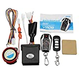 Viviance ZHVIVY Sensor automático de 5M Sistema de Alarma PKE de Dos vías para Motocicleta Bloqueo automático Desbloqueo Remoto